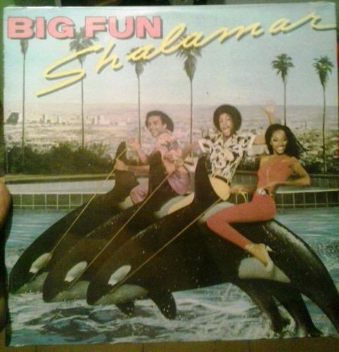 shalamar - big fun (vinyl, lp) disco music 1979 nuevo!!!