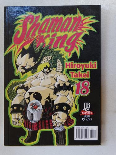 shaman king n° 18! jbc julho 2004!