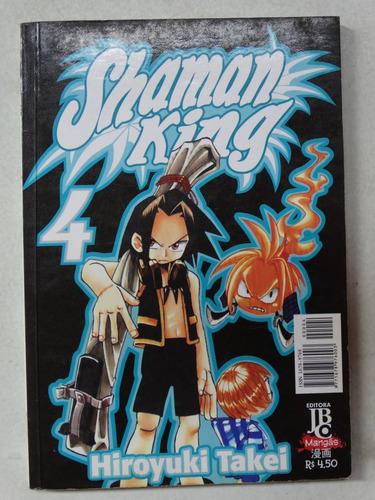 shaman king n° 4! jbc outubro 2003!