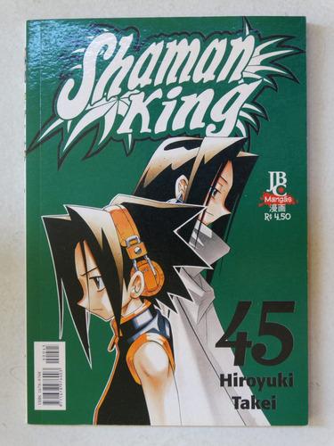 shaman king n° 45! jbc setembro 2005!