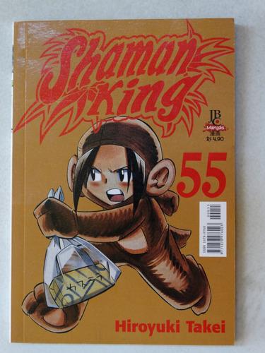 shaman king n° 55! jbc fevereiro 2006!