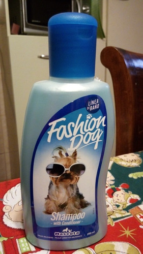 shampoo acondicionador perros fashion dog 250 ml