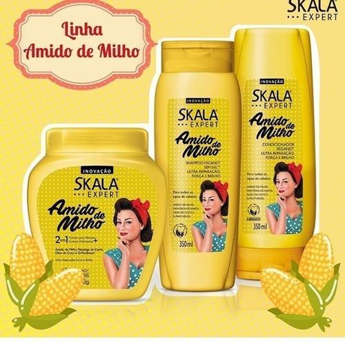 shampoo, acondicionador y mascara skala envio gratis