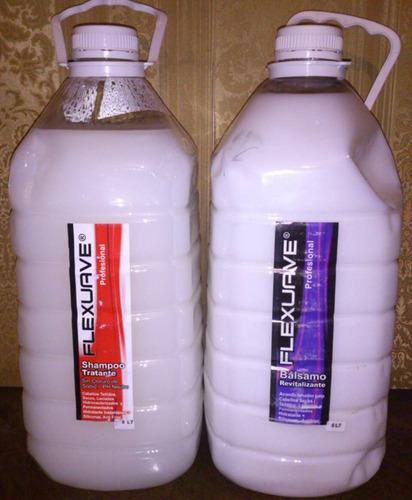 shampoo, acondicionar revendedores, kit sin sodio de 5 litro