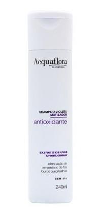 shampoo acquaflora violeta antioxidante matizador