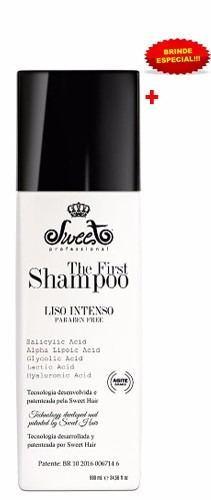 shampoo alisante the first sweet hair progressiva 980ml