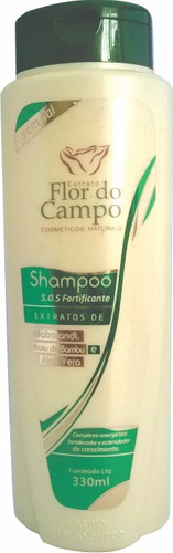 shampoo antiqueda  crescimento sos fortificante 330ml