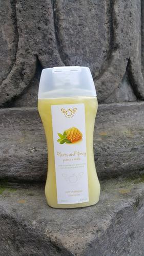 shampoo aroma miel de abeja de mcberry