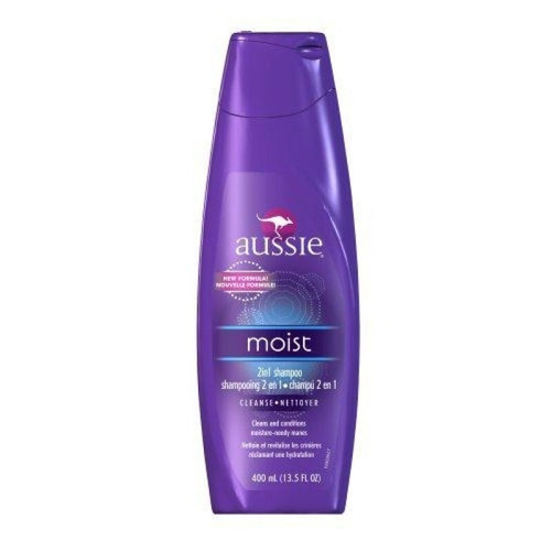 shampoo aussie moist - hidratação profunda - 400 ml