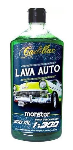 shampoo automotivo concentrado lava auto monster cadillac