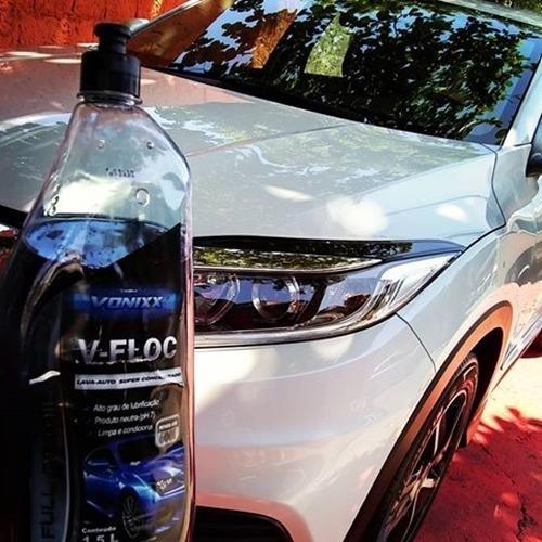 shampoo automotivo concentrado vonixx v-floc 1,5l