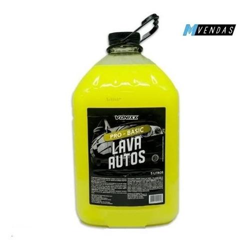 shampoo automotivo lava auto vonixx detergente 5 litros