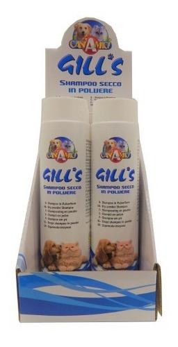 shampoo baño en seco para perros y gatos polvo 200gr
