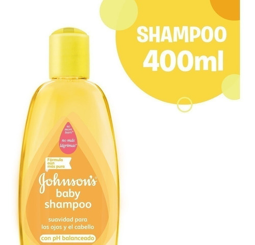 shampoo bebe johnson baby clasico 400 ml ph balanceado