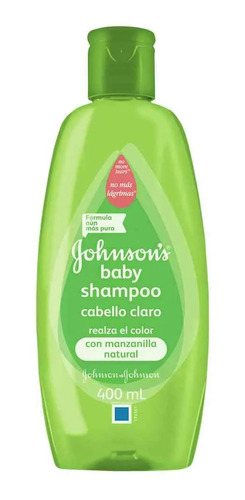 shampoo bebe manzanilla johnson cabello claro 400 ml