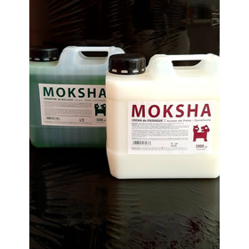 Shampoo Belleza Y Crema De Enjuague  Moksha X 5 L