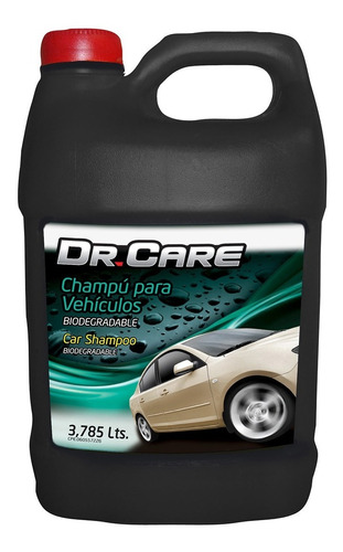 shampoo biodegradable dr. care galon 3,785 lts