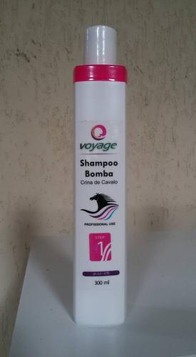 shampoo bomba auxilia no crescimento dos fios 300ml