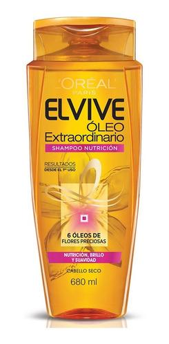 shampoo cabello dañado óleo elvive l'oréal 680ml