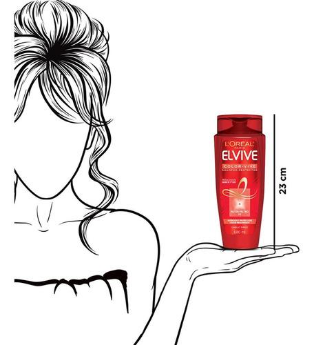 shampoo cabello teñido color vive elvive 680ml l'oréal paris