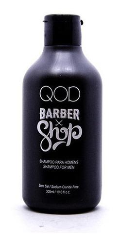 shampoo cabelo masculino qod barber shop 300ml