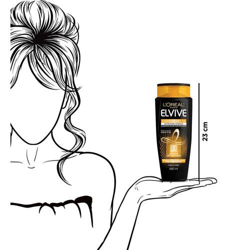 shampoo caída resist pelo seco elvive 680ml l'oréal paris
