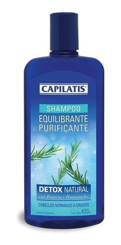 shampoo capilatis equilibrante purificante detox natural