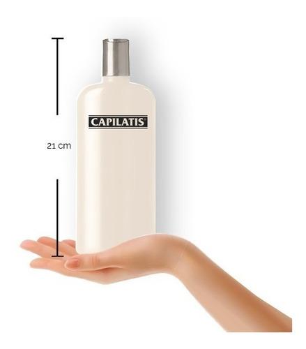 shampoo capilatis para cabellos secos con aceite de argán