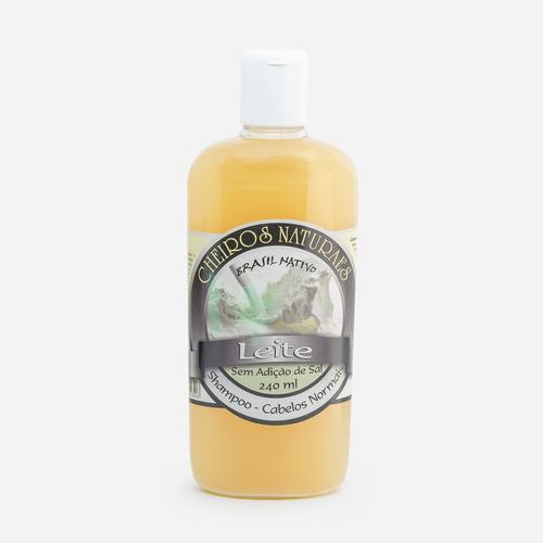 shampoo cheiros naturaes leite 240ml
