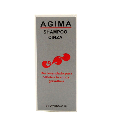 shampoo cinza natural agima 80ml
