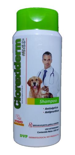 shampoo clorexiderm max holland 350 ml antiséptico