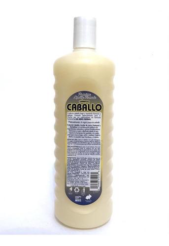 shampoo cola de caballo 1100 ml indio papago.