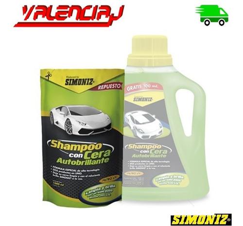 shampoo con cera autobrillante simoniz 1000ml