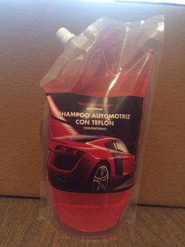 shampoo con teflon
