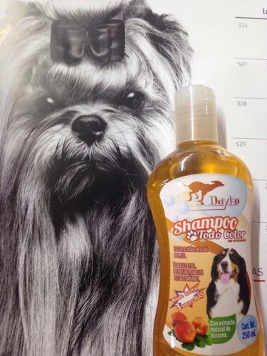 shampoo concentrado de 250 ml p/pelo negro ,blanco y general