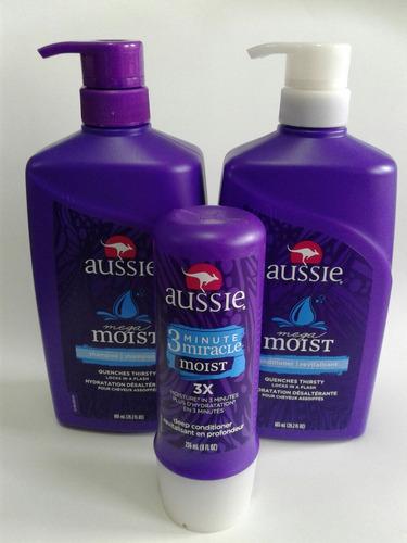 shampoo cond aussie