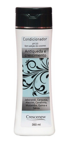 shampoo, condicionador, 3 tônico anti-queda crescenew