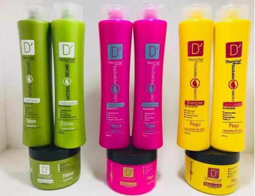 shampoo + condicionador + máscara = 30 atacado - revenda