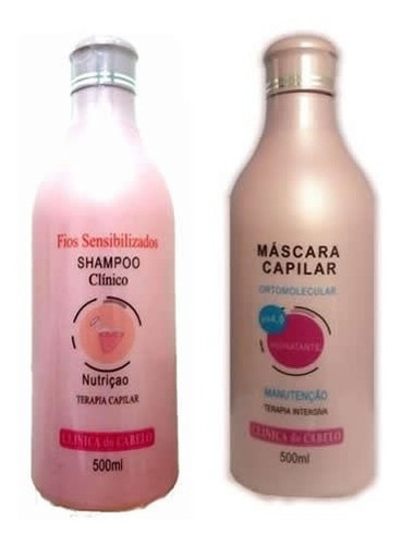 shampoo condicionador p/ sensibilizado ressecado quebradiço