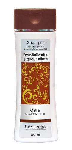 shampoo coquetel ostras cabelos normais - 6 unidades