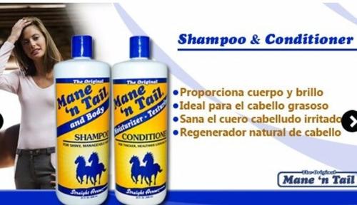 shampoo crecimiento caballo main n tail 1 litro
