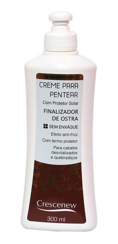 shampoo, creme e máscara coquetel de ostra - pentear cabelo