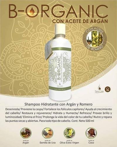 shampoo de aceite de argan