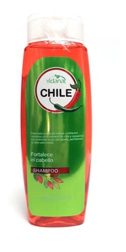 shampoo de chile vidanat 500ml anti sebo y anti caspa full