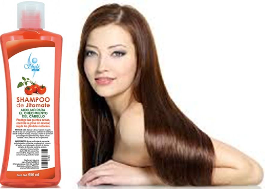 Crecimiento de cabello con jitomate