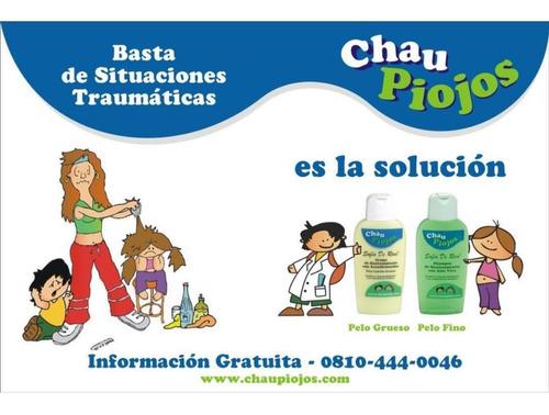 shampoo  de mantenimiento de la linea de chau piojos