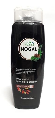 shampoo de nogal vidanat 500 ml