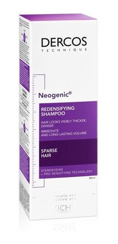shampoo dercos neogenic 200ml vichy