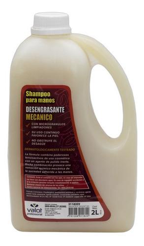 shampoo desengrasante para manos mecánico 2lt valot oficial