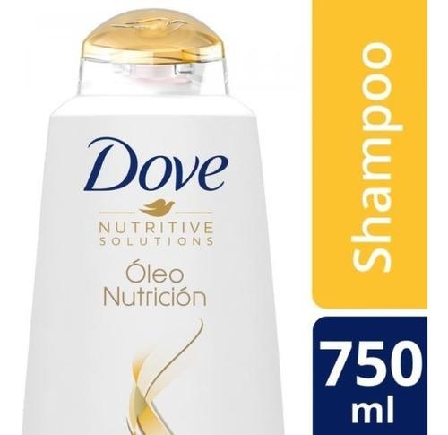 shampoo dove oleo nutricion 750 ml.